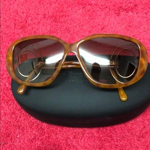 Christian Dior Vintage 80s Sunglasses Atomic Age
